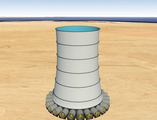 0.8KM High – Solar Wind Energy Tower Can Generate Energy Equivalent to A Large Dam (1250MW)