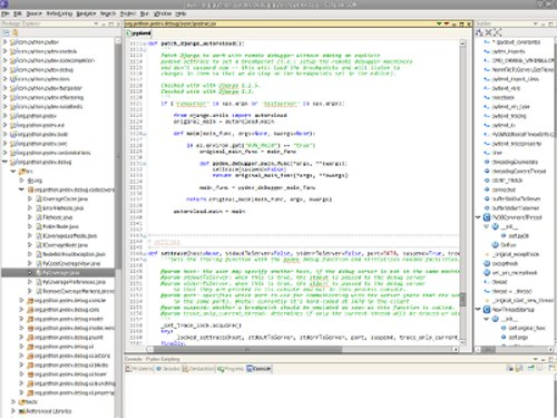 Eclipse with PyDev